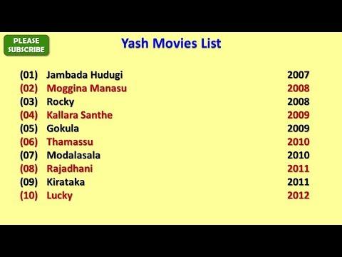 Yash Movies List