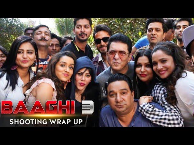 Baaghi 3 Shooting Wrap Up Party   Tiger Shroff   Shraddha Kapoor