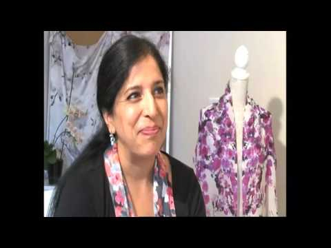 Nottingham Textile Designer Barinder Gahir On BBC East Midlands Today