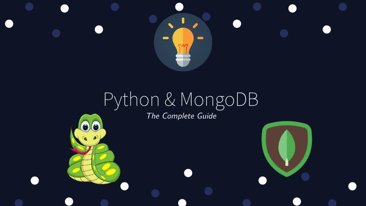 Python and MongoDB - The Complete Guide | Learn to use MongoDB in your  Python Application