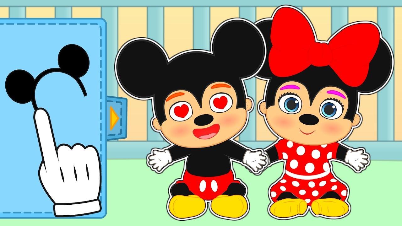 Como Dibujar Mickey Mouse Bebe