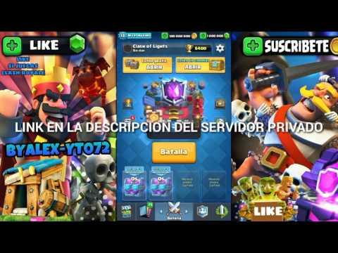 Descargate El Mejor Servidor Privado De Clash Royale Con El Mega Caballero Y Mas Cartas Nuevas 2017