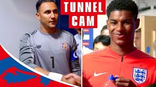 England v Costa Rica Tunnel Cam   Inside England's 2-0 Win in Final Warm-Up Game   England