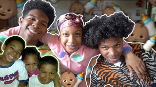 MY MOM TURNED ME AND MY SIBLINGS BACK INTO BABIES! *we didn't get along*