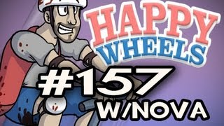 Happy Wheels w/Nova Ep.157 - OLD MAN AND HIS DAMN LEG