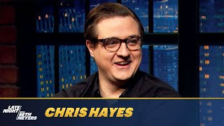 Chris Hayes Thinks Barring Trump from Public Office Is a No-Brainer