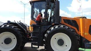 Трактор «Амкодор 5300» и другая техника. Видеосюжет.