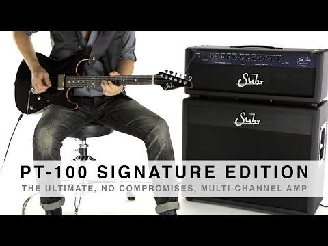 SUHR PT-100™ SIGNATURE EDITION AMPLIFIER