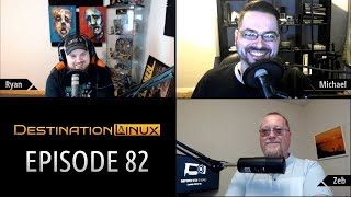 Destination Linux EP82 - A Three Dimensional Journey