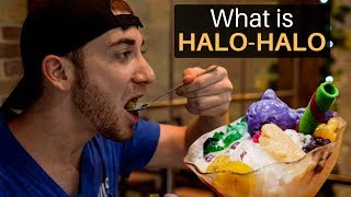 What is HALO-HALO? Best Dessert in the Philippines