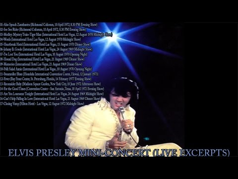 Elvis Presley - Mini-Concert 4 (Live Excerpts), AUDIO ONLY, [HD Remaster], HQ