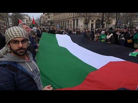 تجدد الاحتجاجات في باريس ضد قرار ترامب بشأن القدس  - نشر قبل 11 ساعة