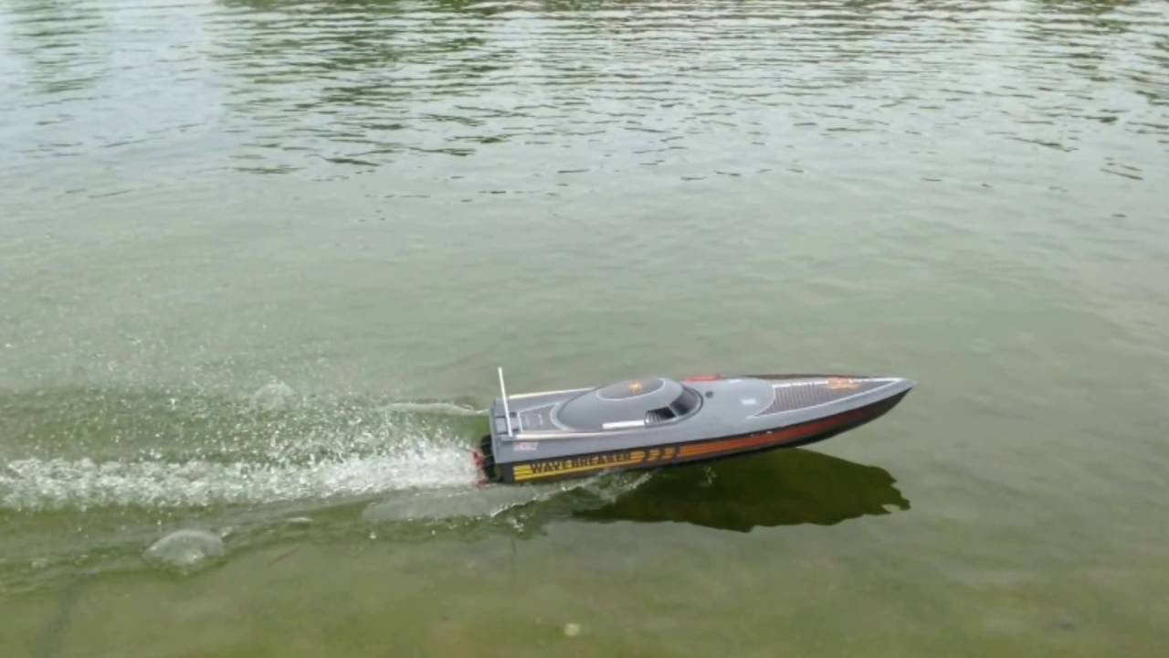 super bateau t l command qui va 16 km h youtube. Black Bedroom Furniture Sets. Home Design Ideas