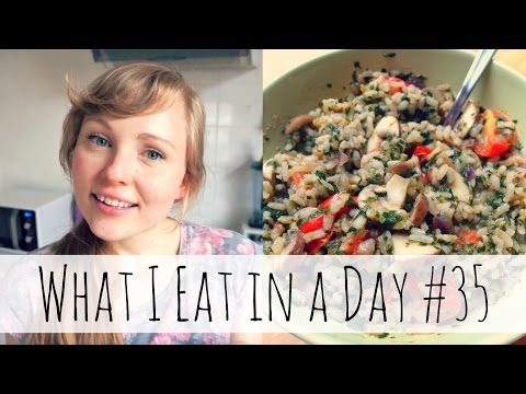 What I Eat in a Day #35 (Vegan, Low-Fat)