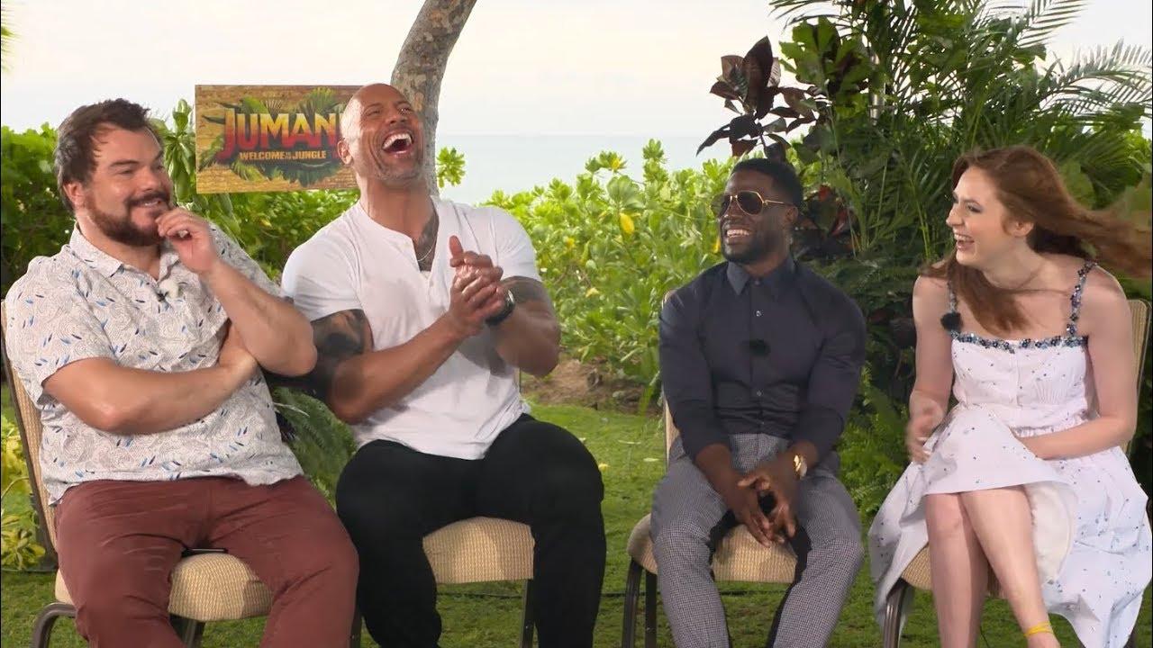 Download 'Jumanji: Welcome to the Jungle'   Unscripted   Dwayne Johnson, Kevin Hart, Jack Black, Karen Gillan