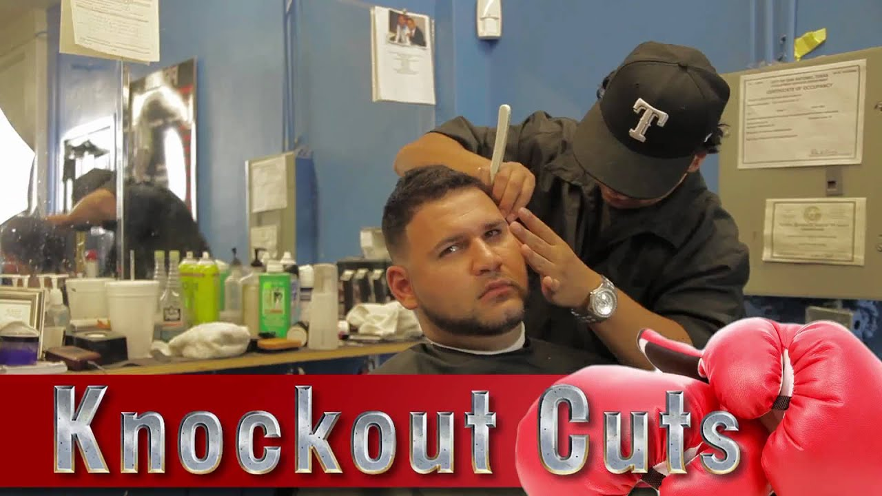 Knockout Cuts The Best Barber Shop In East San Antonio Youtube