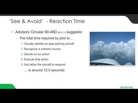 Active Traffic in an ADS B World Webinar  - Avidyne