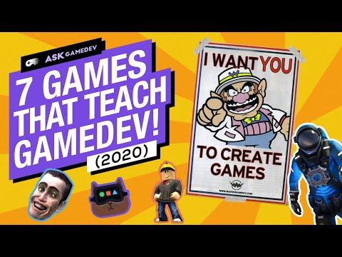 7 More Games That Teach Game Development [2020]