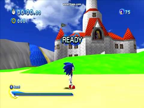 Sonic Generations: Peach's Castle (N64 Version) Test