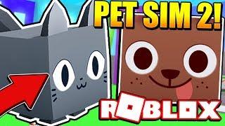PET SIMULATOR 2 RELEASE!? NOUVEAUX ANIMAUX DE COMPAGNIE ET PLUS ENCORE! Roblox