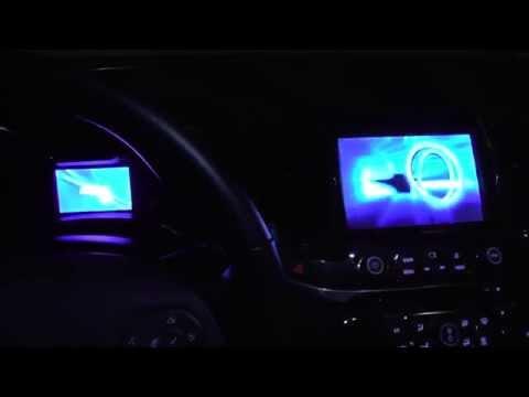 2015 Chevy Impala Dashboard Startup Screens
