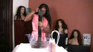 How to Wash Your Sassy Tress Human Hair Lace Wig