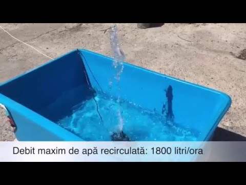 Pompa submersibila pentru