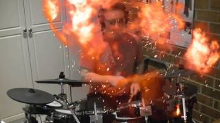 Burning Love - Drum Cover with Special Effects Elvis Presley Wynonna Judd