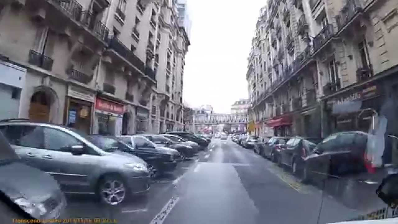 driving in paris av joseph bouvard rue violet youtube. Black Bedroom Furniture Sets. Home Design Ideas