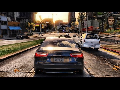 ► GTA 6 Graphics - ✪ M.V.G.A. - Cars Gameplay 3! Ultra Realistic Graphic ENB MOD PC - 60 FPS - 1080p