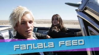 r5 heart made up on you   behind the scenes look