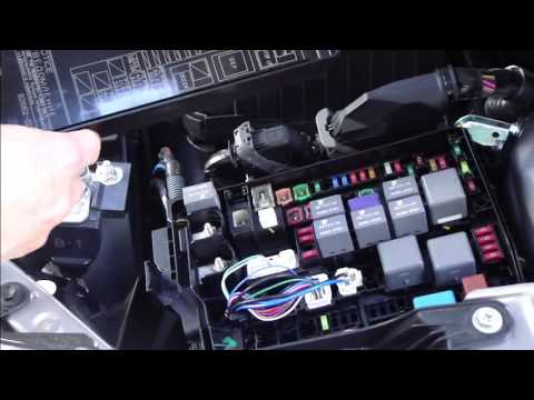 how to replace fuses toyota corolla years 2013 to 2018 est youtube rh youtube com toyota allion fuse box toyota premio fuse box diagram