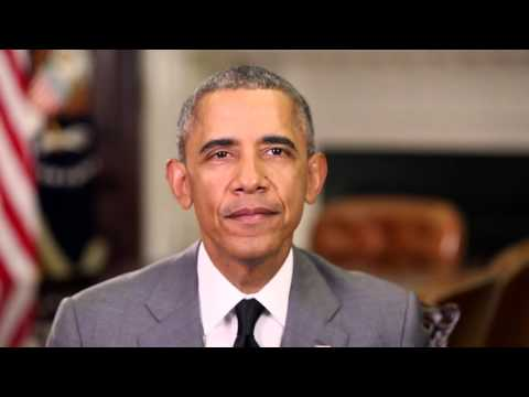 US President Barack Obama Addresses the Community of Democracies Ministerial Conference