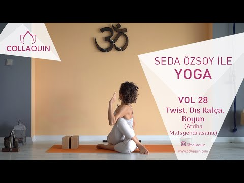 Seda Özsoy ile Yoga | Vol 28 | Twist, Dış Kalça, Boyun (Ardha Matsyendrasana)