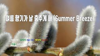 [은성 반주기] 여름향기가날춤추게해(Summer Breeze) - SF9(에스에프나인)