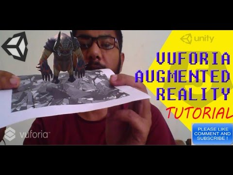 Unity Tutorial : Create your own Augmented Reality App in 10 Minutes