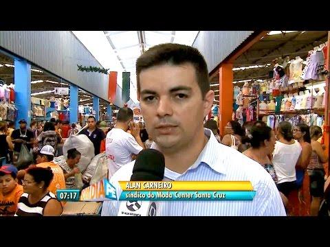 Bom Dia Pernambuco destaca a feira no Moda Center Santa Cruz neste domingo