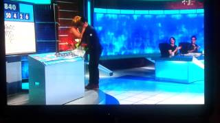 Rachel Riley surprised by Ryan Giggs