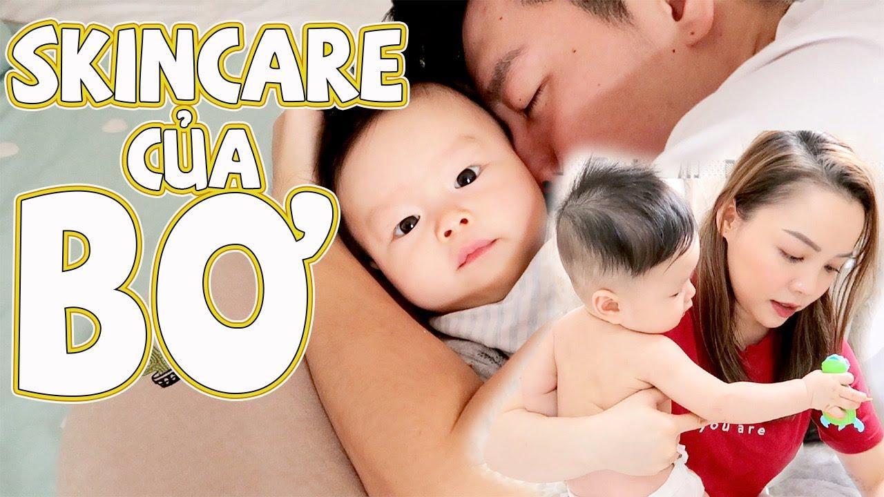 Skincare Của Em Bé Bơ  💇♂️Bơ Đi Tắm ❤️ TrinhPham Family