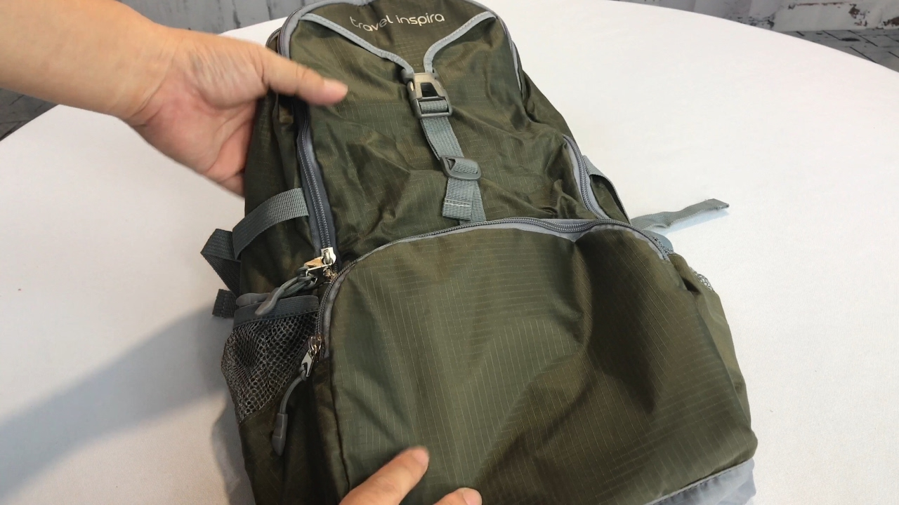 Mooedcoe Ultra Lightweight Packable Backpack Waterproof Outdoor Hiking Daypack Travel Foldable Backpacks Black