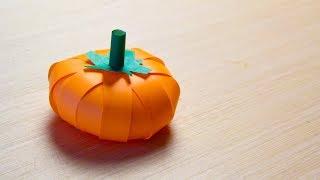 видео Как сделать тыкву на Хэллоуин своими руками