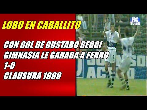 LOBO EN CABALLITO! FERRO 0 GIMNASIA LP 1 (GOL DE REGGI) 1999