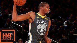 Golden State Warriors vs New York Knicks Full Game Highlights | 10.26.2018, NBA Season