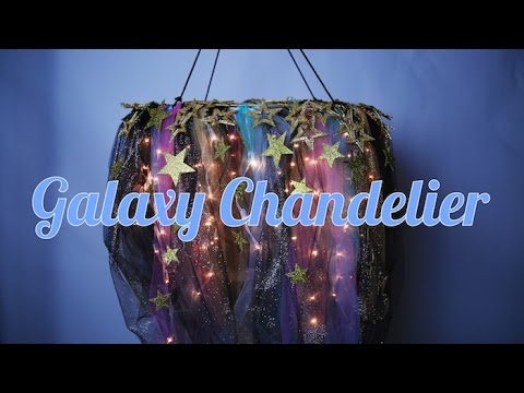 Diy galaxy chandelier youtube diy galaxy chandelier aloadofball Choice Image
