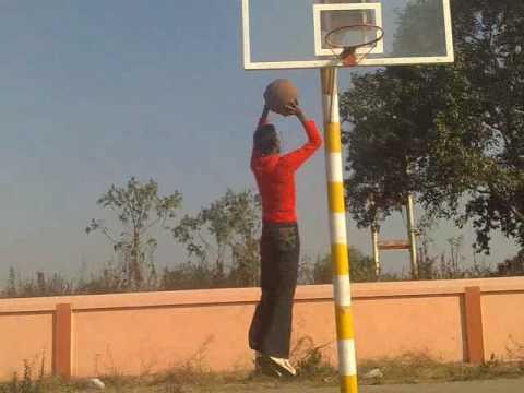 nice shot Sachin (At KV School Raigarh)