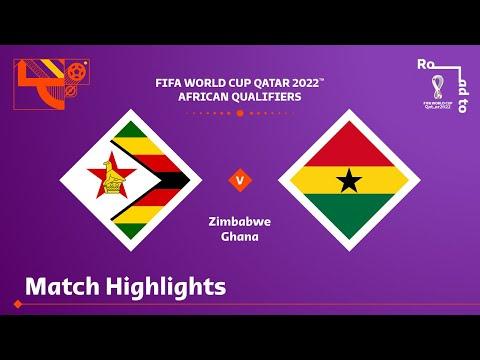 Zimbabwe Ghana Goals And Highlights