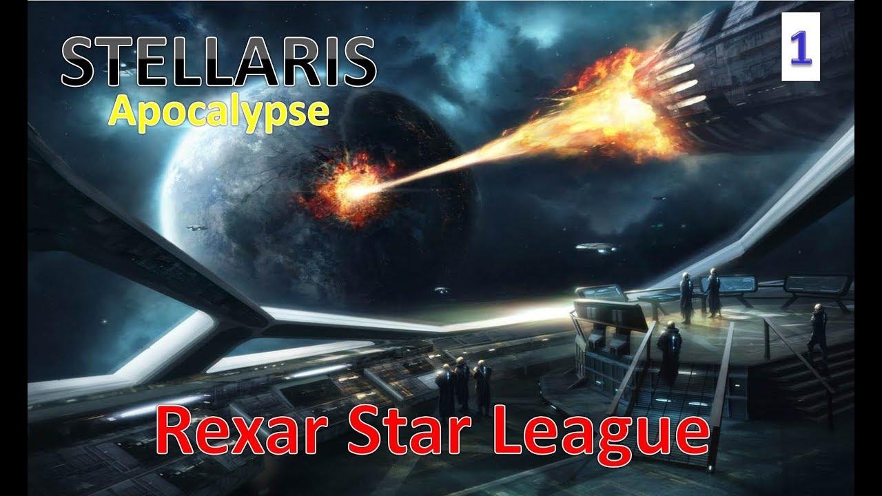 Raxar Star League l Tomb World Start l (Stellaris 2 0 + Apocalypse) l Part 1