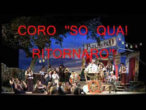 2 '' Son Qua! Ritornano''i pagliacci LIVE coro 1959Lucine Amara, Mario Del Monaco ,Dimitri  Mitropoulos