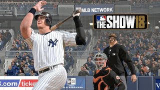 """""""AND ITS GONE"""" MLB 18 RTTS Joe Broadway Road To The Show vs Orioles MLB The Show 18 Road to the Show"""