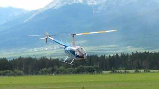 Robinson R 44 Helicopter Dynamic Demo Flight / Poprad Airshow 2011